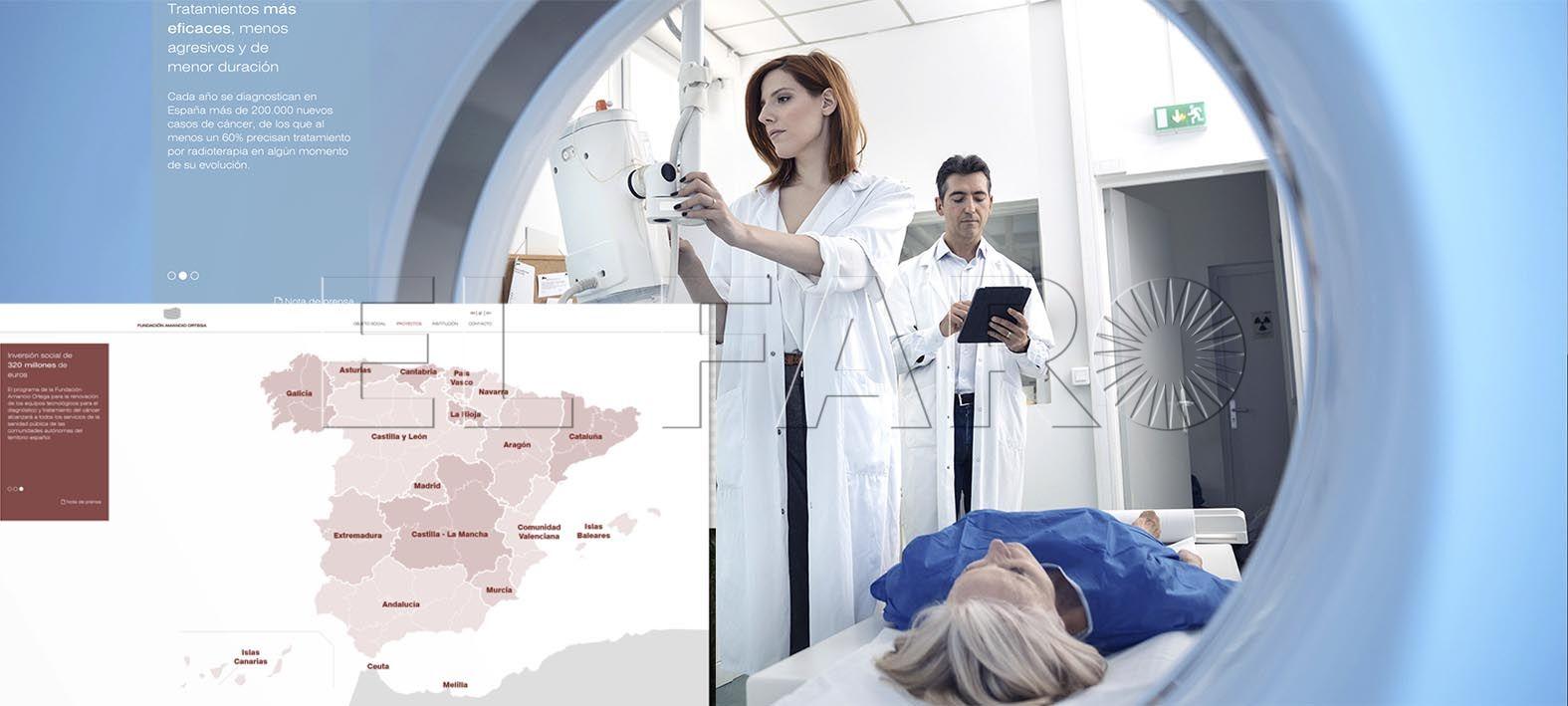 La Fundación Amancio Ortega contempla a Ceuta y Melilla en su donación para la atención oncológica