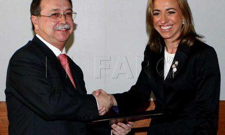 Chacón y Vivas firmaron un acuerdo para compra de terrenos