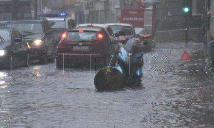 La Marina, inundada