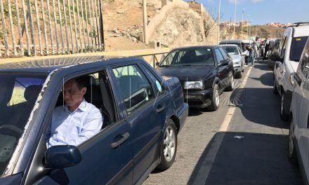 """Hernández: """"Exigimos al Partido Popular una solución inmediata a la situación de bloqueo absoluto que se da diariamente en la frontera"""""""