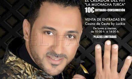 Hakim, el autor de 'La muchacha turca', actuará en el Casino de Ceuta