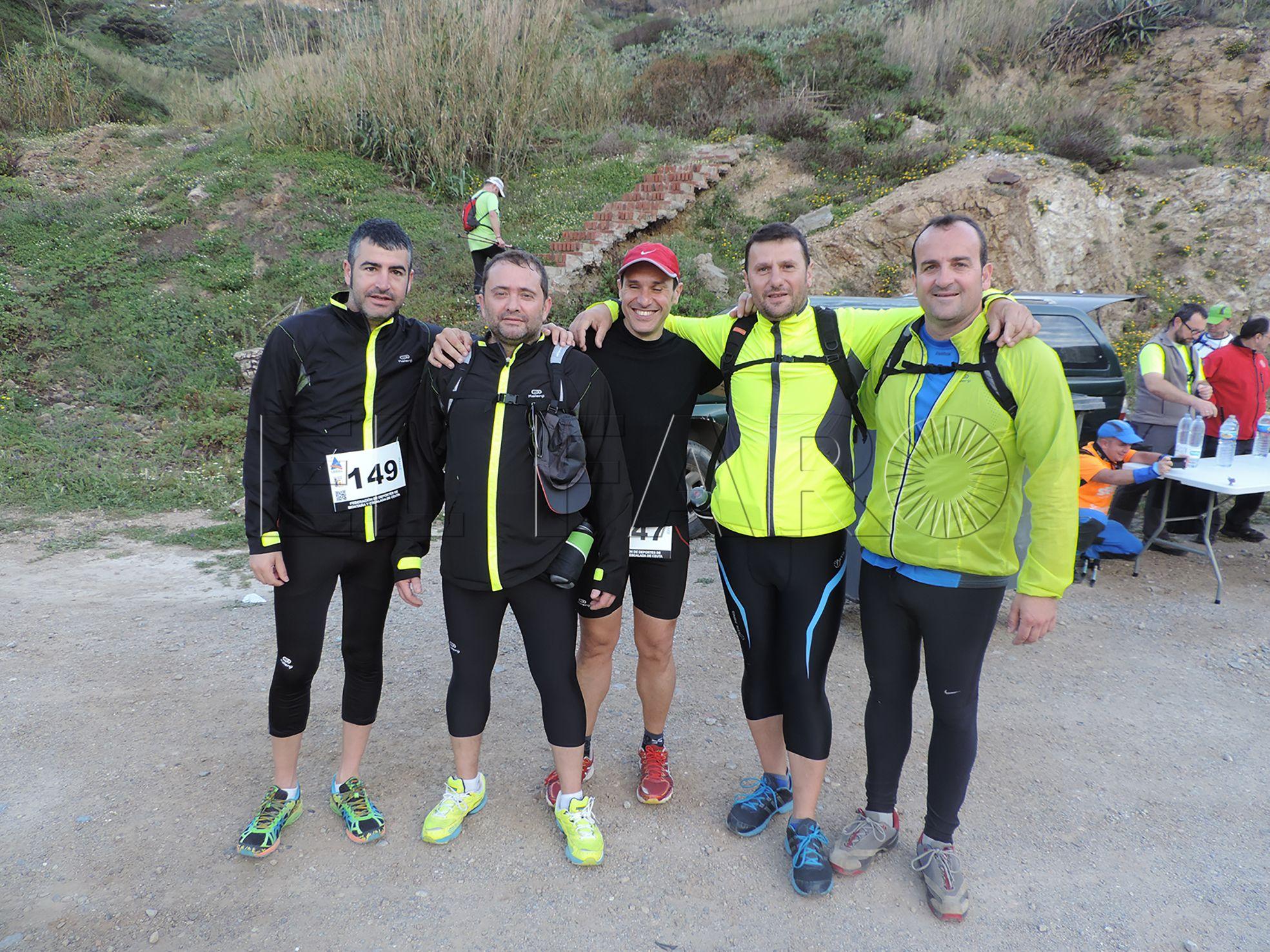 La vuelta a Ceuta andando 'Memorial Auxi Jimeno', suspendida