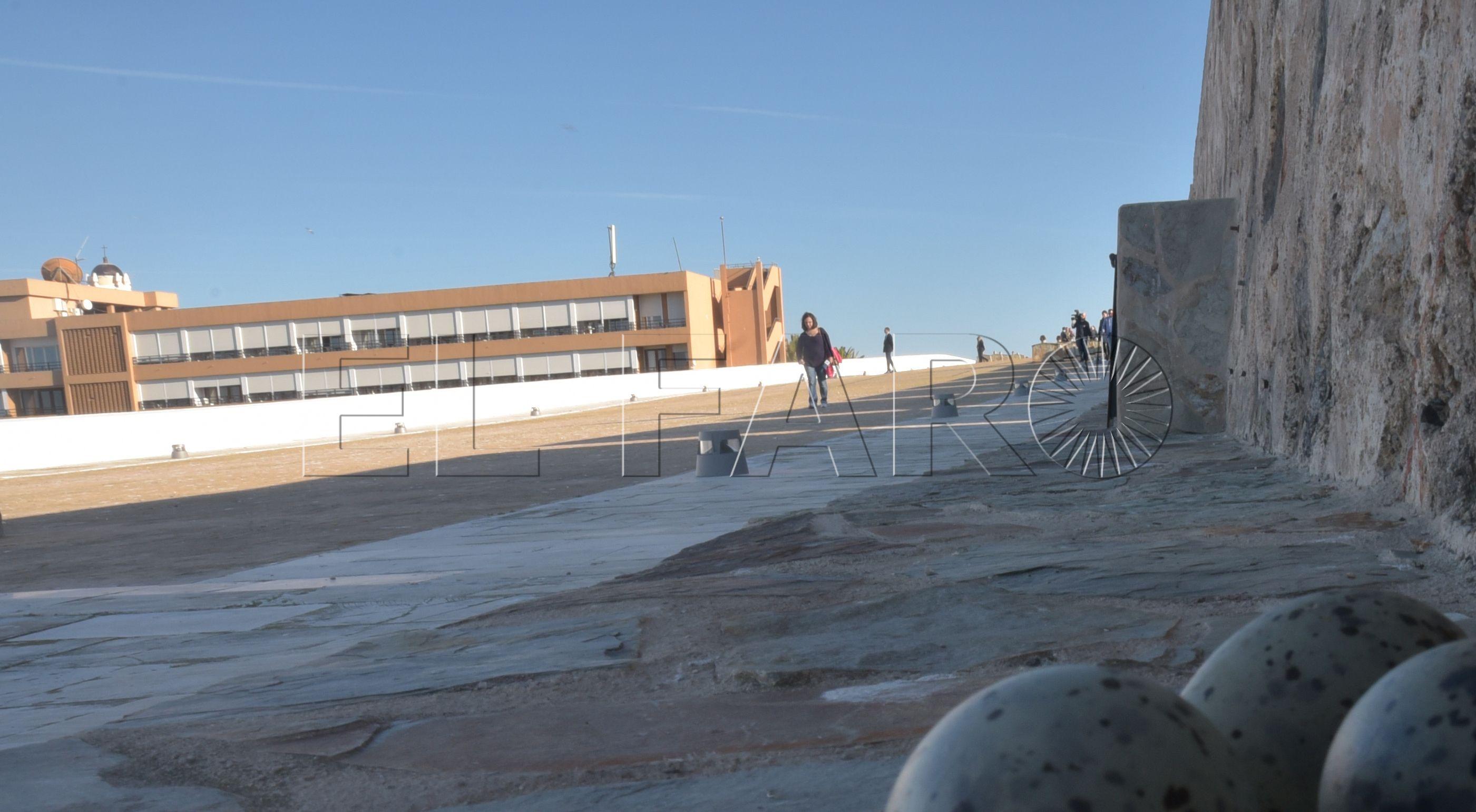 Turespaña arreglará las humedades del abovedado en el Parador de Ceuta