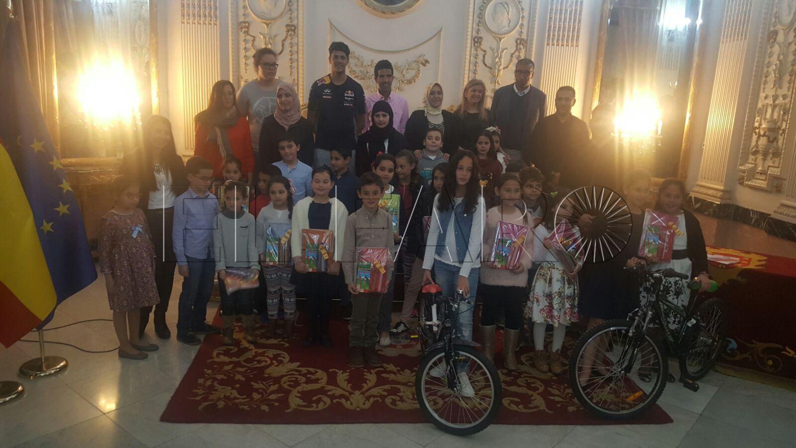 Jóvenes Caballas entrega los premios del concurso de redacción y dibujo de la Pascua del Sacrificio