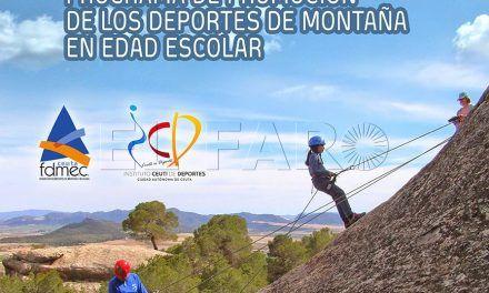 Los deportes de montaña llegan a los colegios