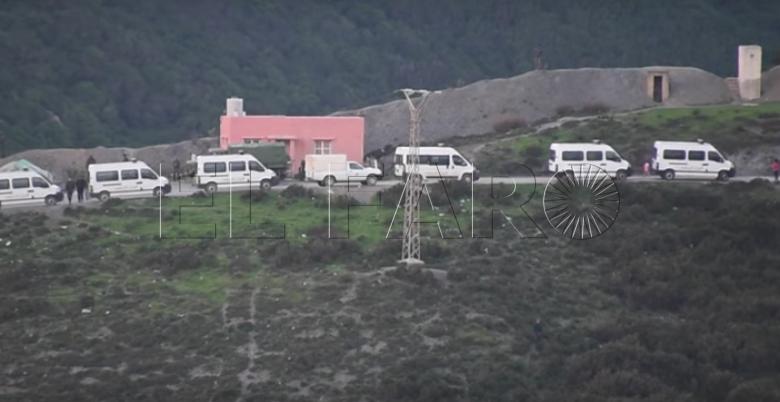 Marruecos y España frenan la entrada de 400 personas por el vallado