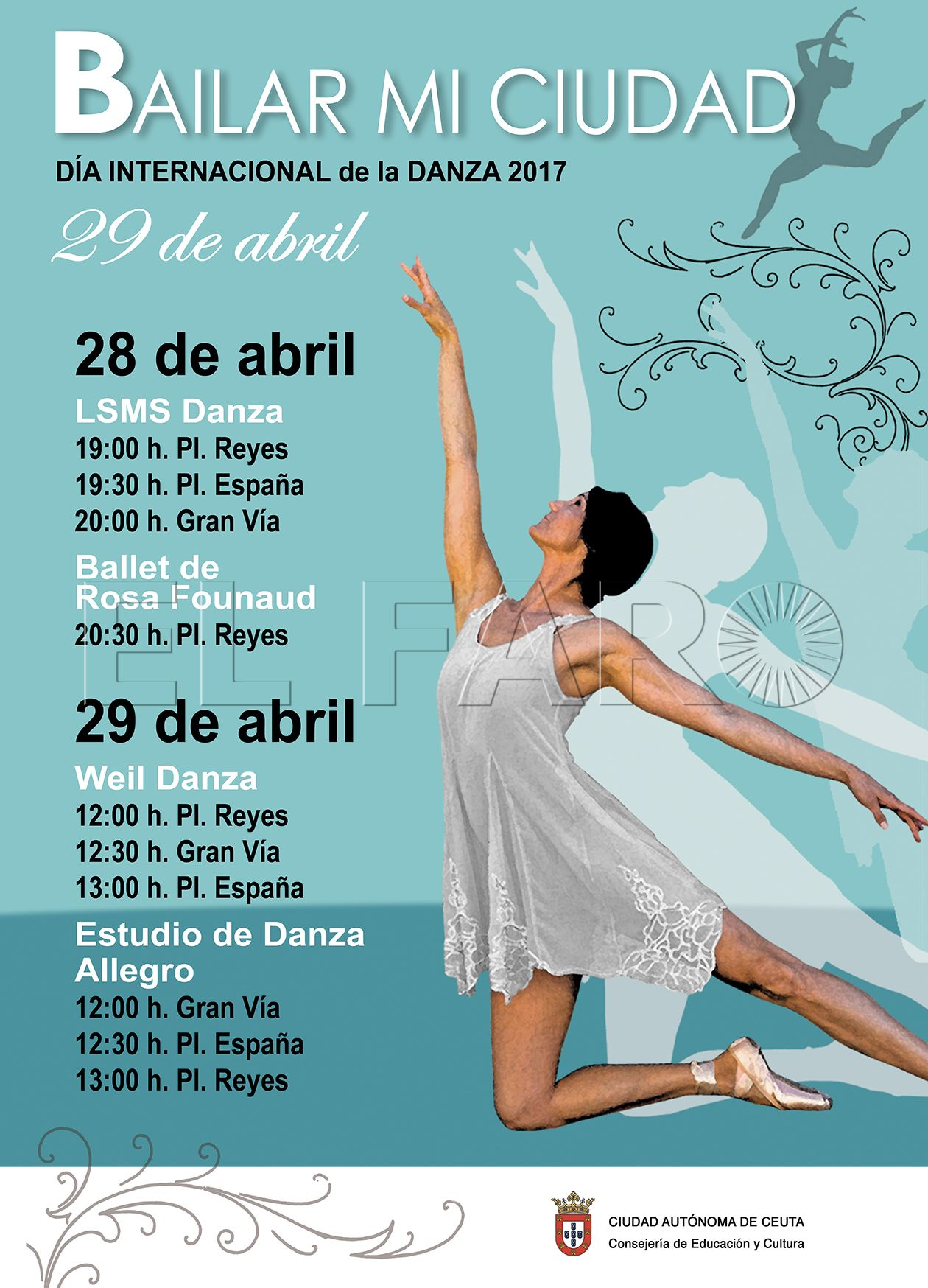 La danza tomará las calles de Ceuta el próximo fin de semana