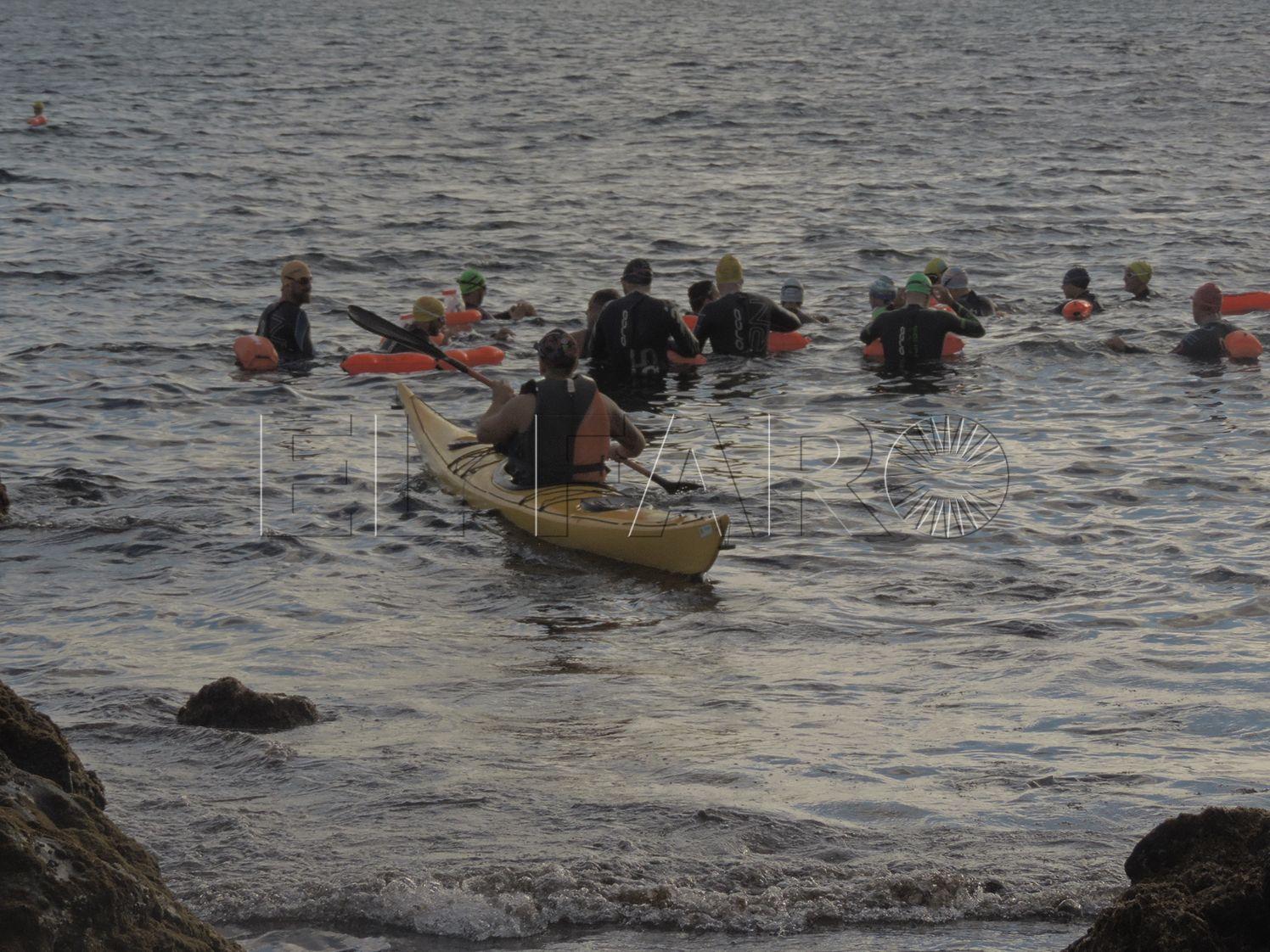 Abiertas las inscripciones para participar en la 'VII Vuelta al Hacho' de aguas abiertas