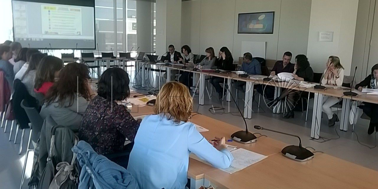 Representantes ceutíes participan en la comisión de convivencia escolar