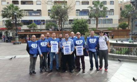 AEGC y CEP viajan a Algeciras en apoyo de sus compañeros