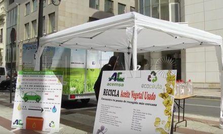 Ecoceuta promueve el reciclaje del aceite vegetal