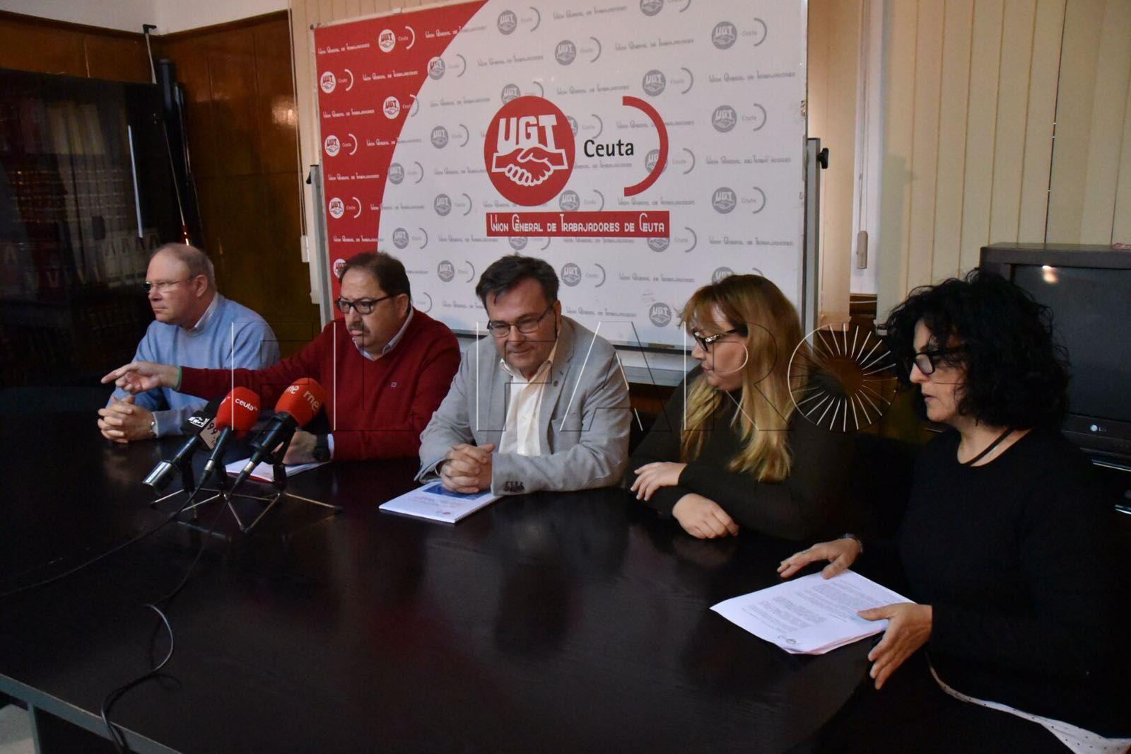 UGT Ceuta y Melilla exigen más competencias para ambas ciudades