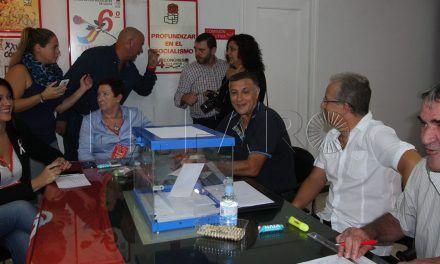 Dos urnas para votar en el PSOE