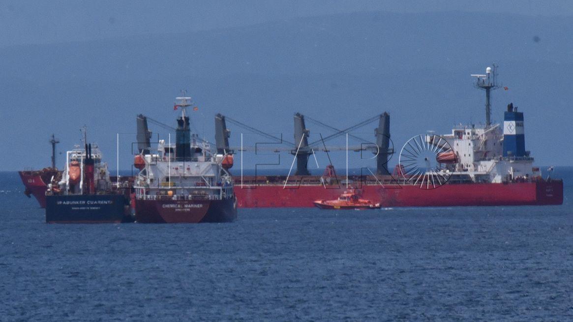 El 'Alexis A' dejó el puerto de Ceuta