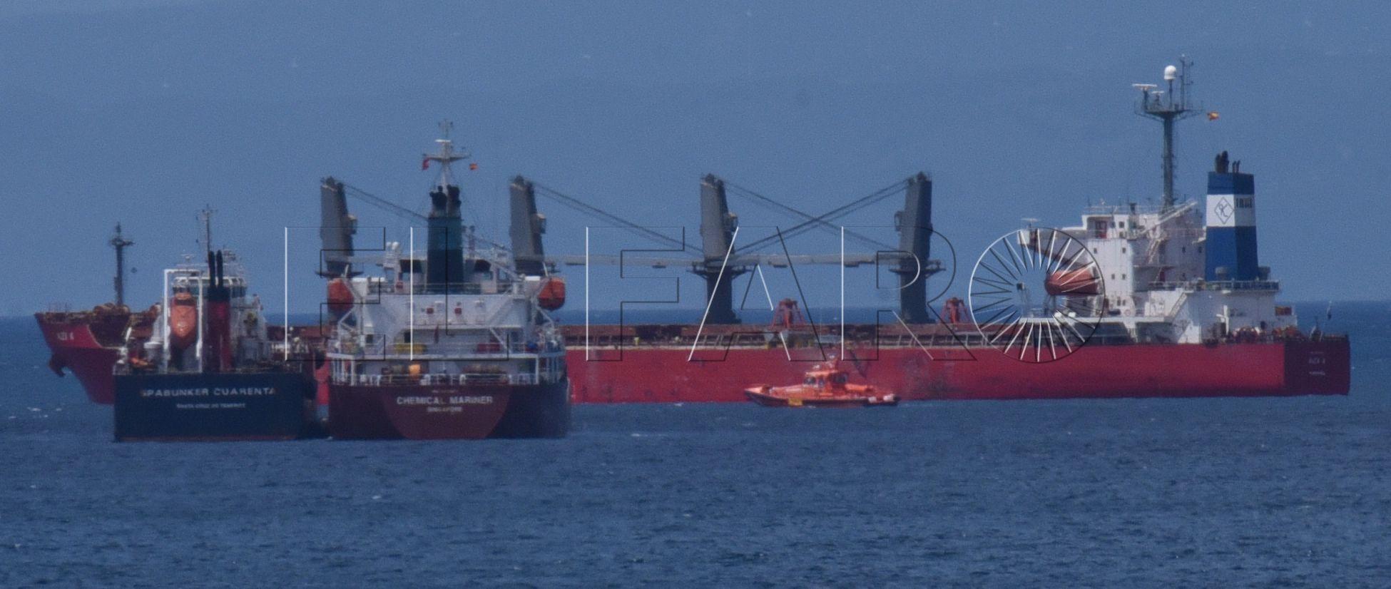 El 'Alexis A' continúa su viaje a Mauritania tras depositar su capitán la garantía de 100.000 euros
