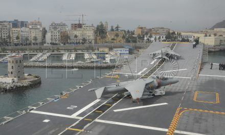 La Armada celebra en Ceuta el centenario de la Aviación Naval española con una conferencia y una exposición fotográfica