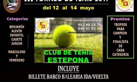 La Federación de Tenis jugará en un torneo en Estepona