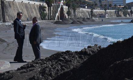 El relleno de las playas, para otoño esperando luz verde del Ministerio de Presidencia
