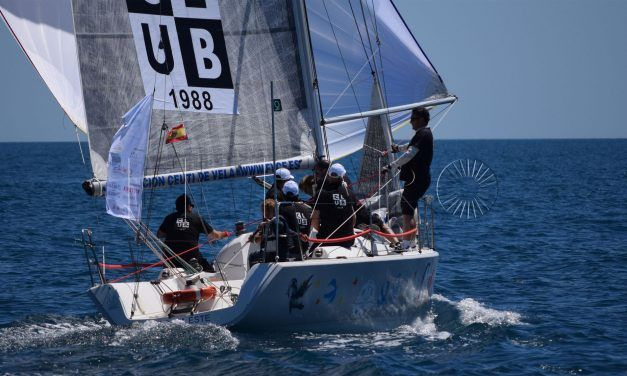 La falta de viento, clave en la VI prueba del Campeonato de Cruceros Interclubs del Estrecho
