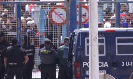 La frontera, cerrada y tensión en el lado marroquí