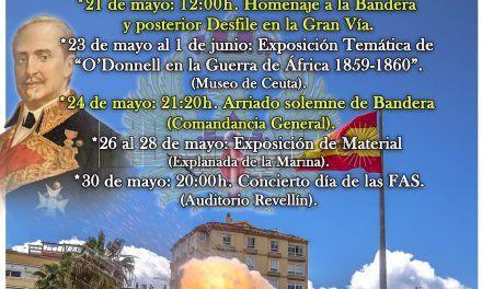La Comandancia General invita a todos los ceutíes a participar en el Día de las Fuerzas Armadas