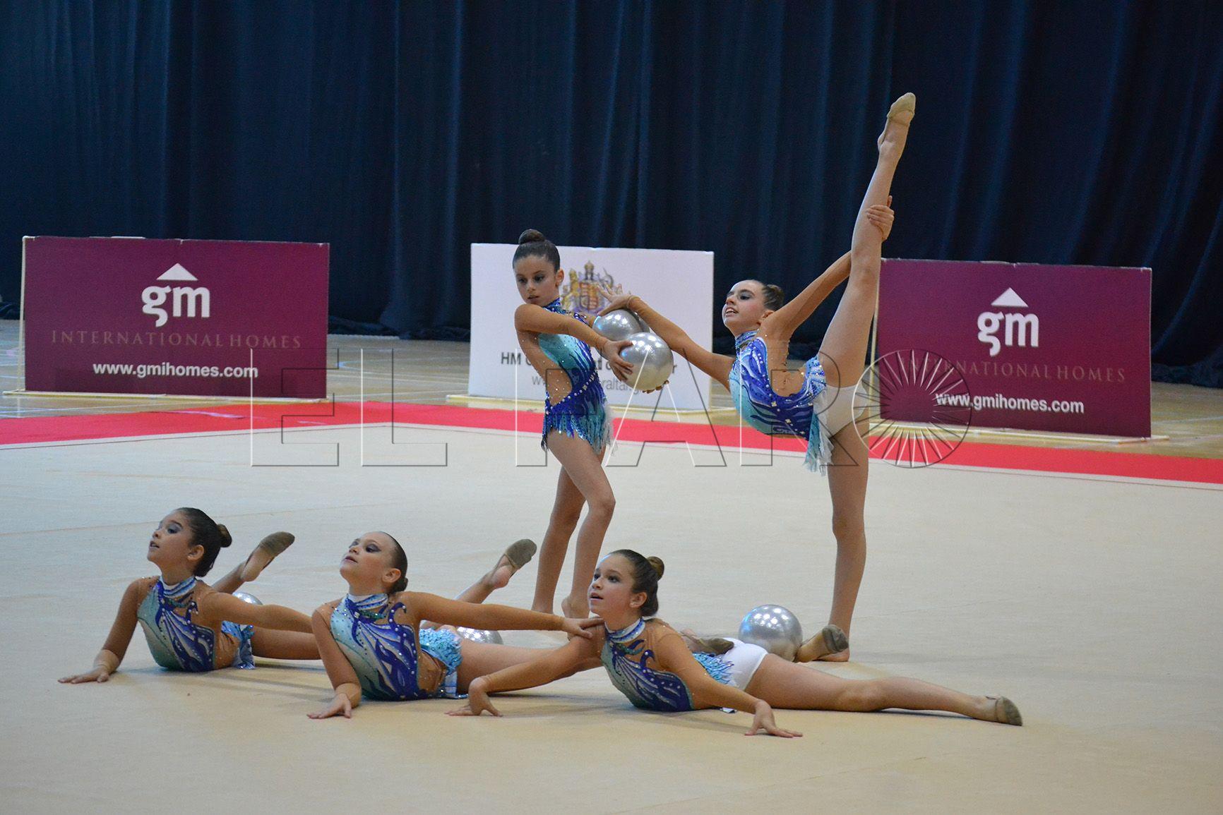 Las gimnastas ceutíes viajan a Gibraltar