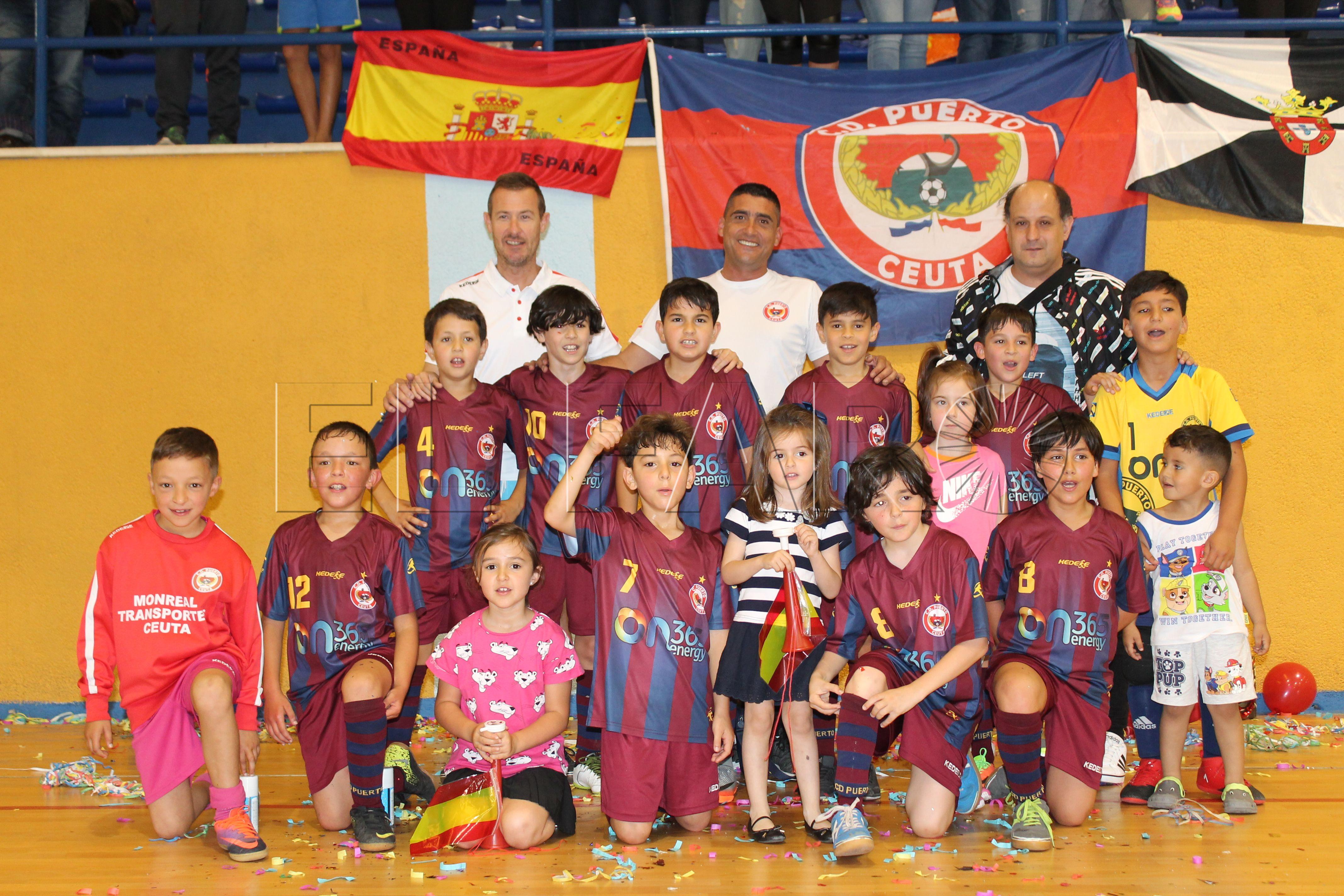El CD Puerto Benjamín sella el título de Liga y su participación en el Nacional de Clubes de Fútbol Sala