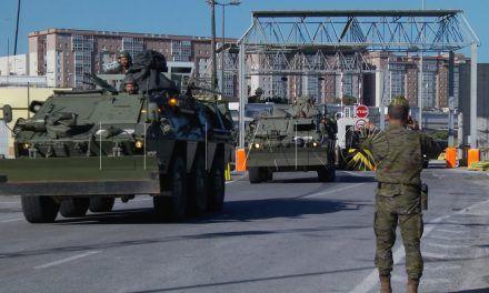 Cinco militares, heridos leves, en un accidente tras desembarcar en Cartagena