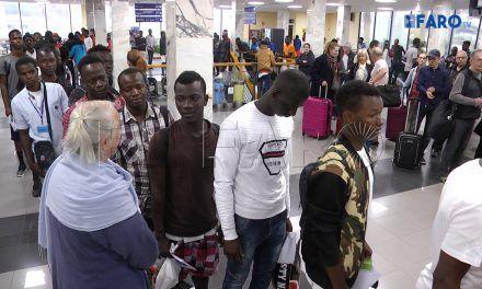 Salida de 81 subsaharianos a la península