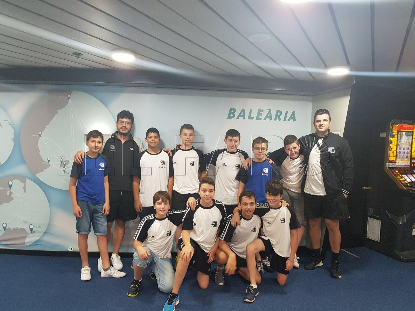 El CN Caballa se queda sin final y jugará por el tercer puesto