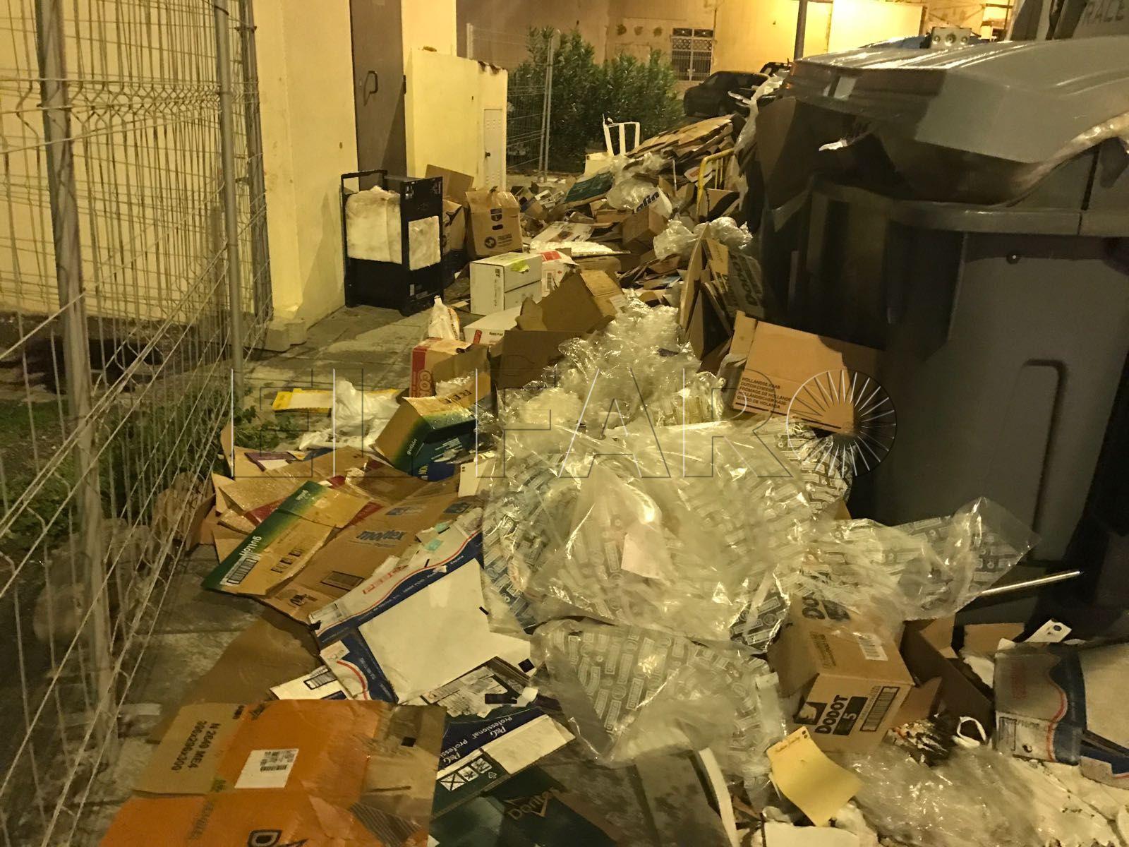 El Comité de Empresa de Trace asegura que Inspección de Trabajo exige una solución para que no se deposite basura en el suelo