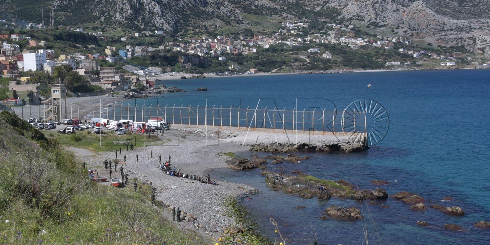 Las obras del espigón de Benzú podrían estar listas para octubre o noviembre