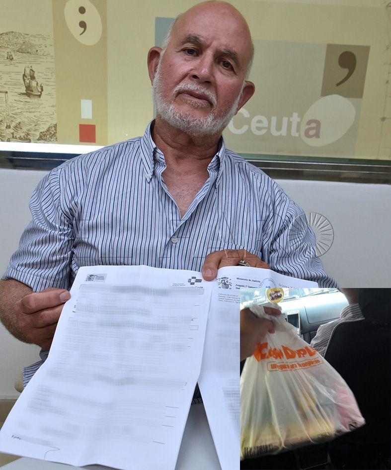 Denuncia que un guardia civil le agredió al querer cruzar la frontera con una bolsa