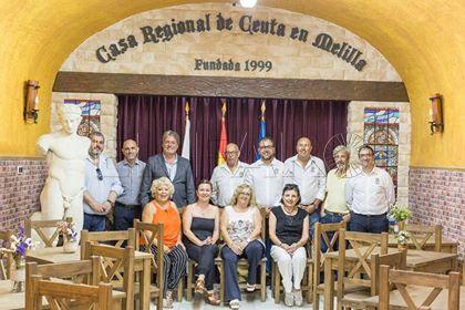 Carreira visita la Casa de Ceuta en Melilla