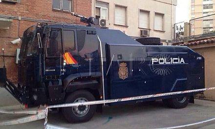 El traslado a Ceuta de la 'tanqueta lanza agua' costó 4.200 euros