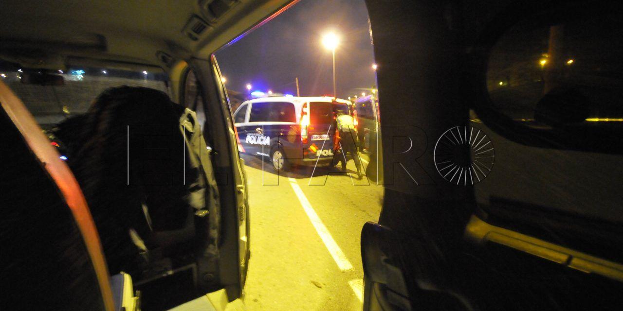 Detenido tras forzar un vehículo para robar en su interior