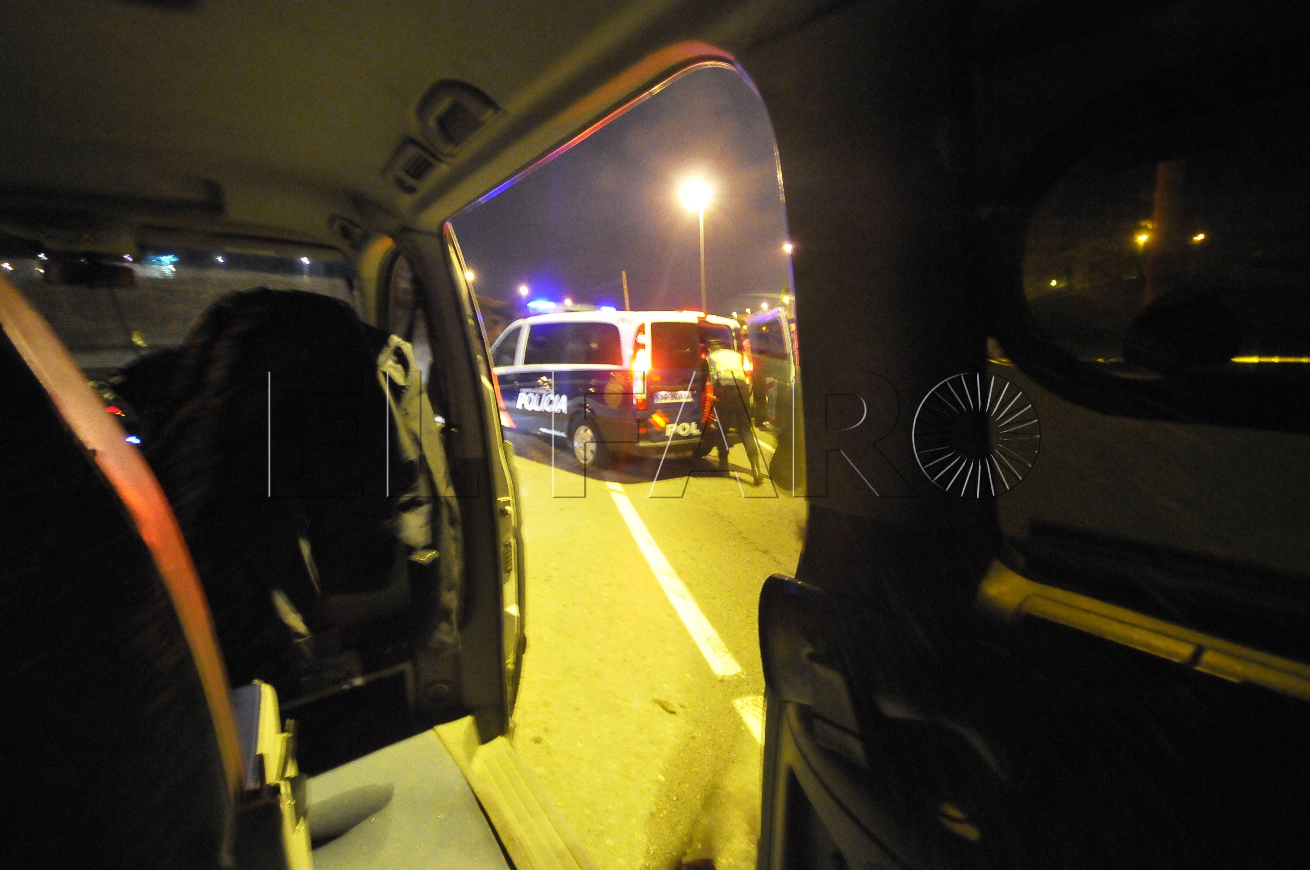 Detenido tras una complicada operación en el Príncipe con disparos y persecución