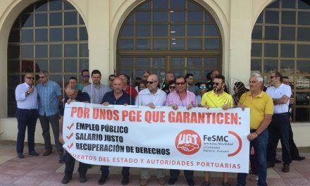 """UGT: Los puertos """"afrontan con dinero público el despido de estibadores de las empresas privadas y sus trabajadores sufren los recortes"""""""