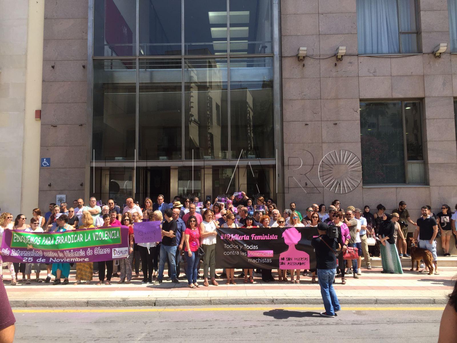El movimiento del 19J exige un aumento presupuestario contra la violencia machista
