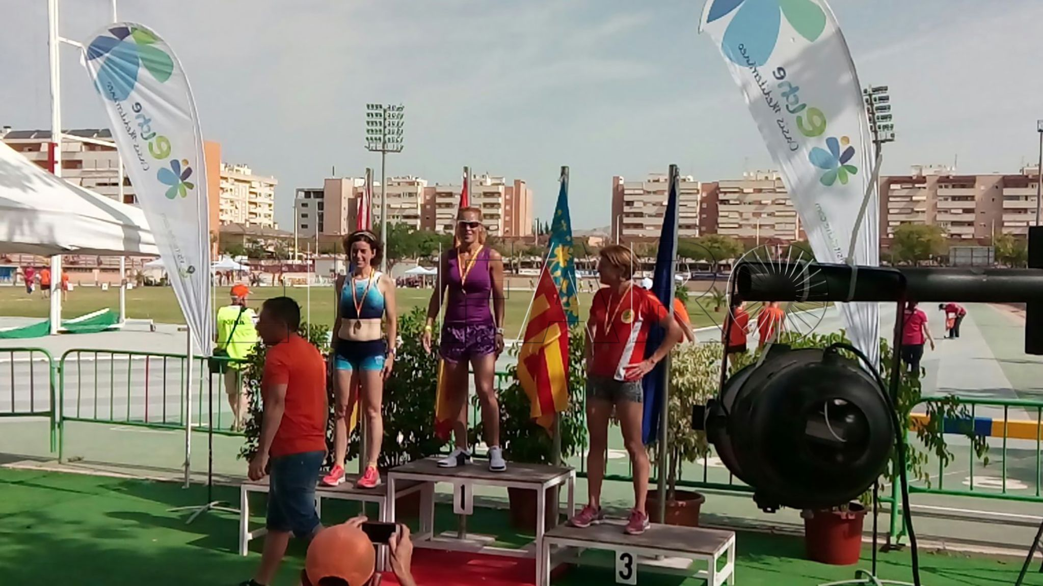 Samira Mhandi, campeona de España