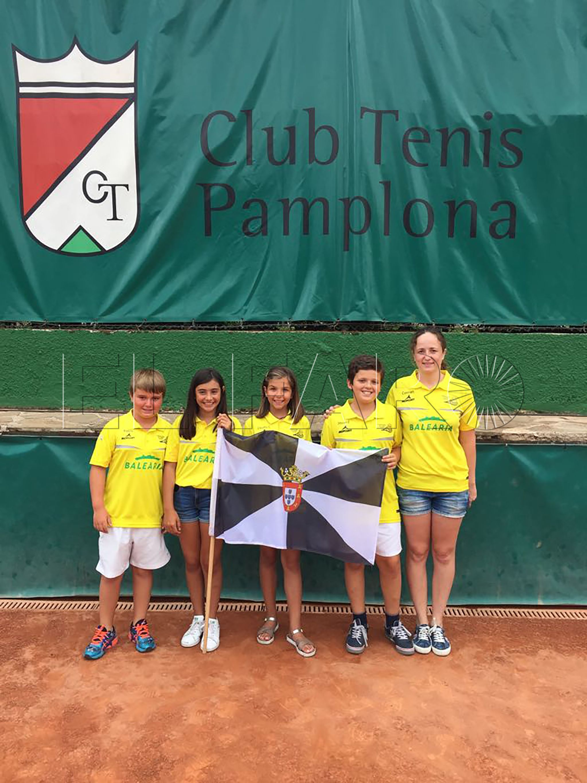 Cuatro tenistas ceutíes, en el Nacional de Pamplona