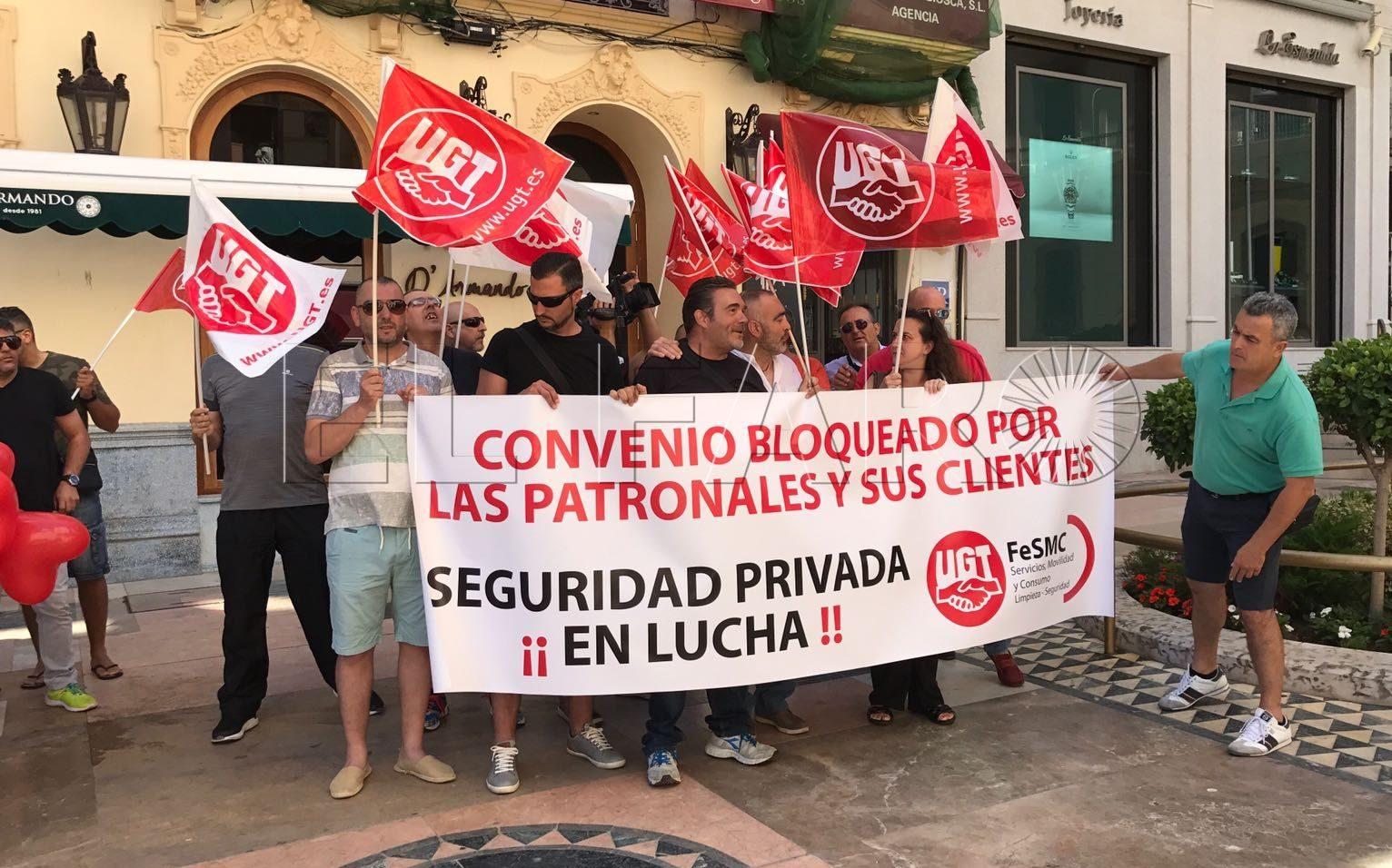 """UGT convoca una concentración en la Clínica Militar por los """"incumplimientos"""" de Marsegur"""