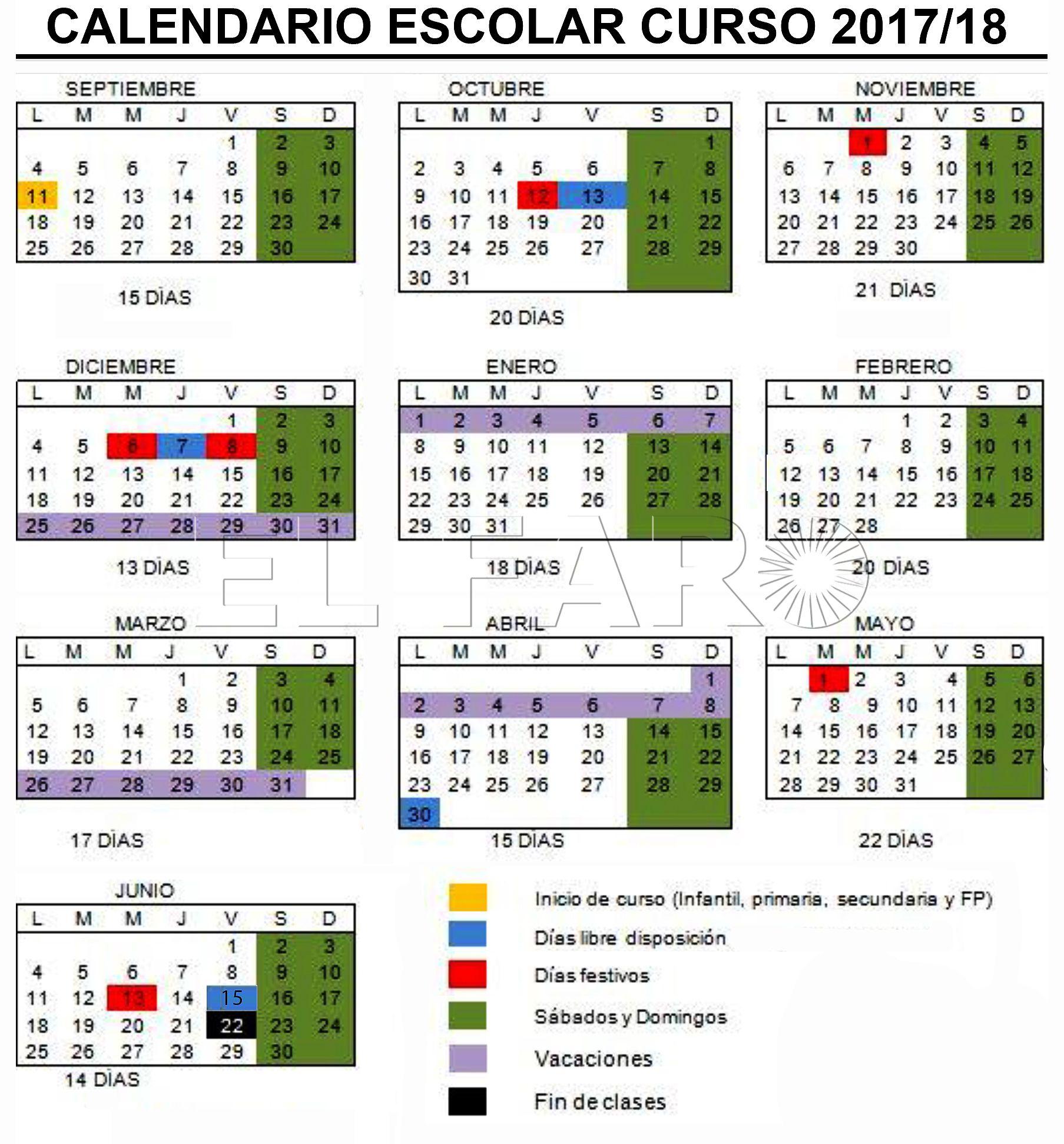 Calendario Escolar 18 19 Cantabria.El Mecd Aprueba El Calendario Escolar Con Eid Al Fitr No
