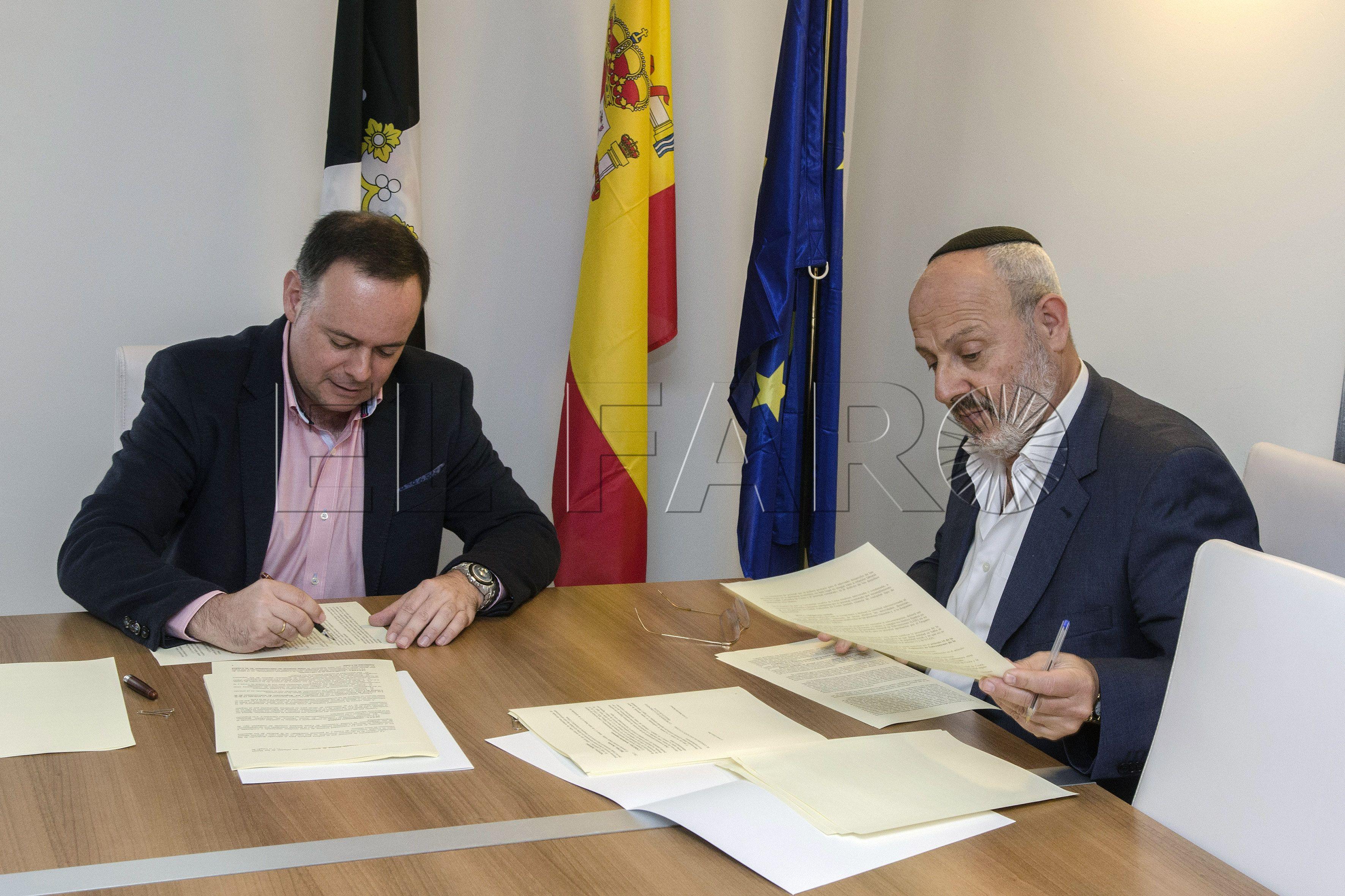 La Ciudad subvenciona con 60.000 euros a la comunidad israelita