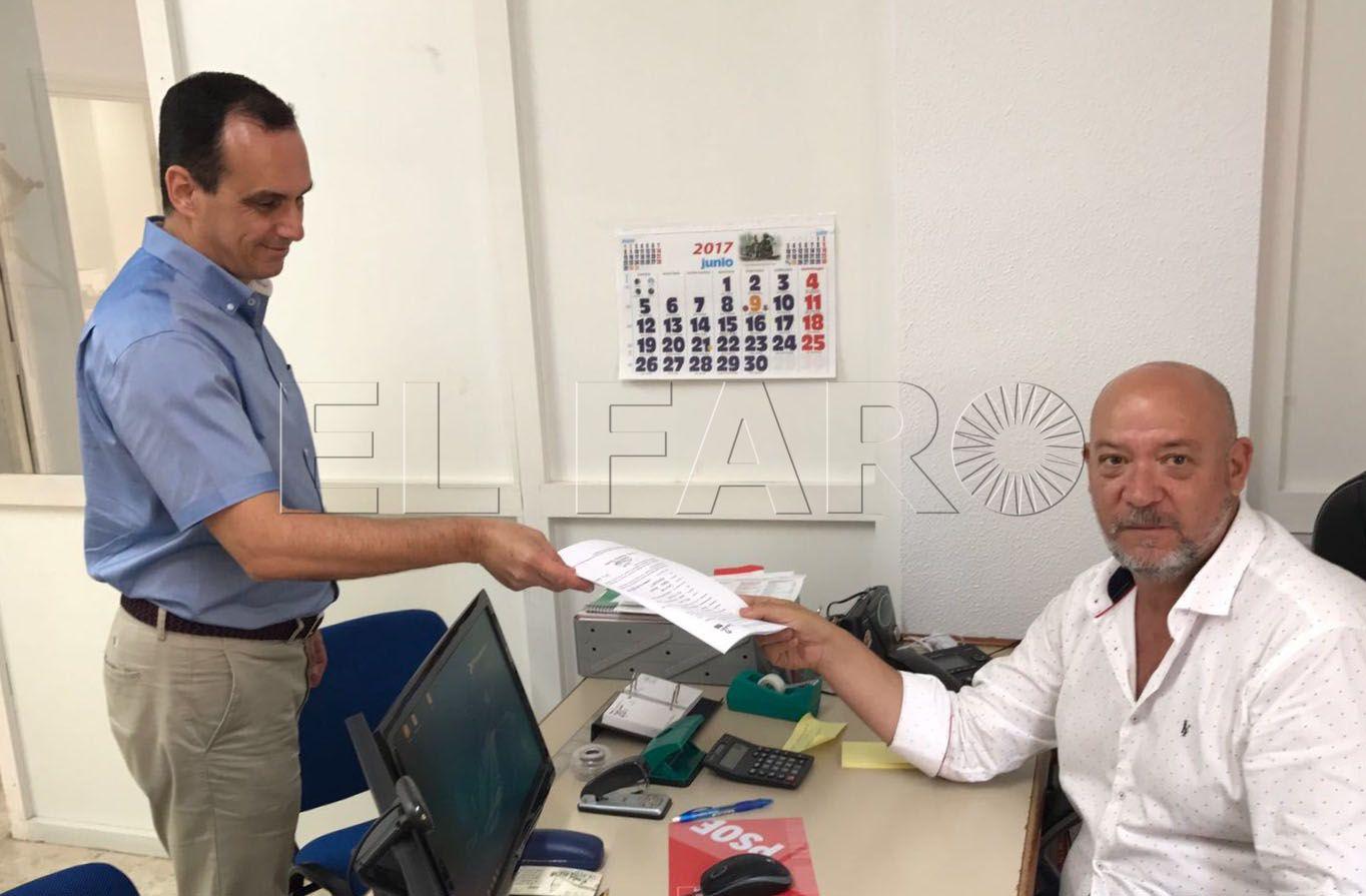 El PSOE de Ceuta confirma a Enrique Moya que presentó su precandidatura a las primarias fuera de plazo