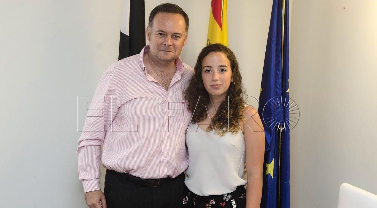 Ainara Pro representará a Ceuta en el 9º Foro Juvenil de Patrimonio Mundial