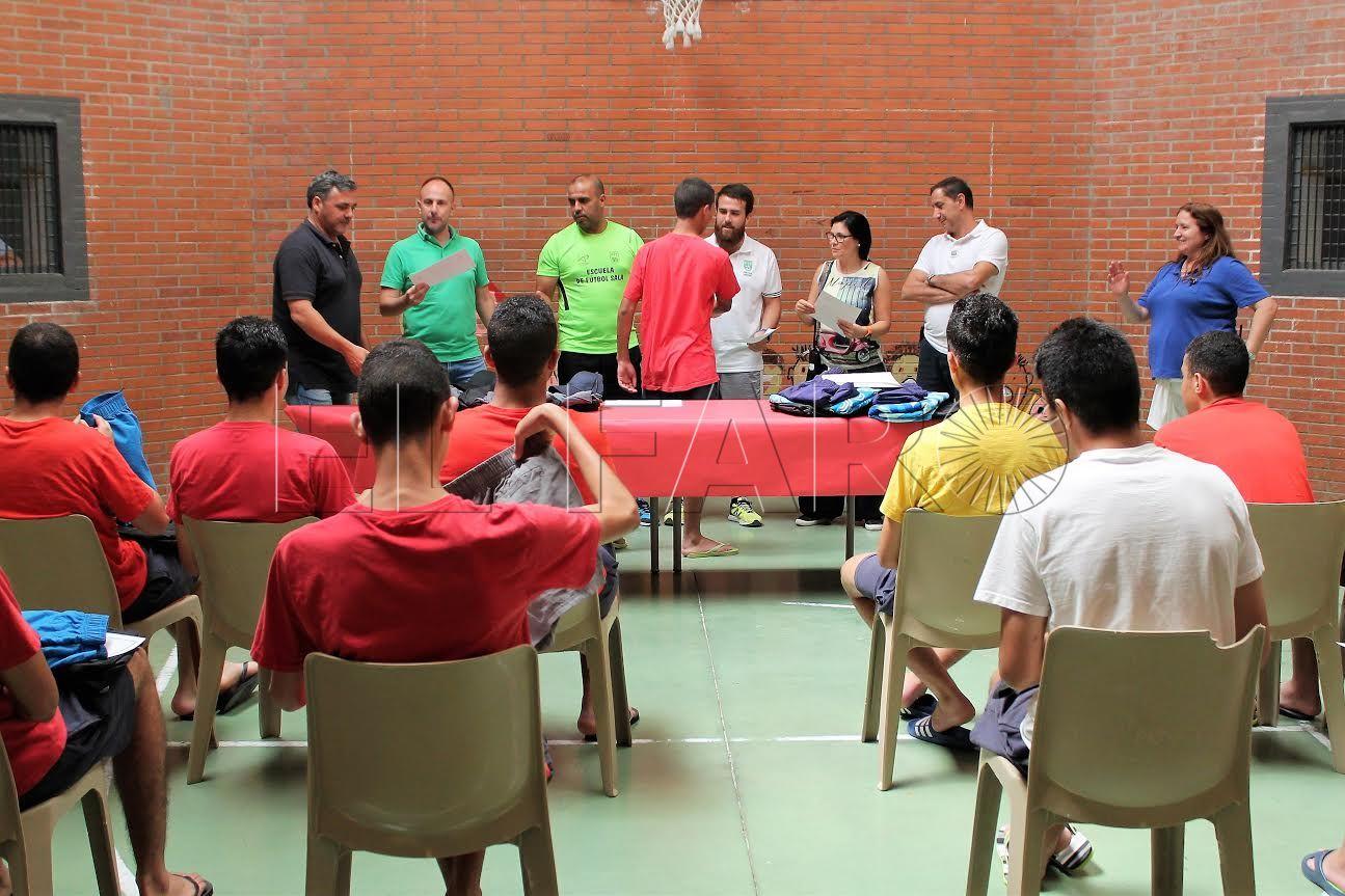 La FFCE celebra en 'Punta Blanca' el I Torneo de Verano de Fútbol-Sala