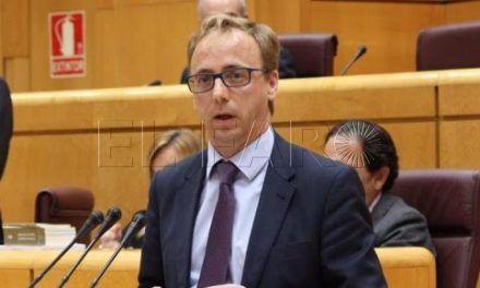 Martínez, entre los representantes de las Cortes Generales en el V Foro Interparlamentario Hispano-Polaco