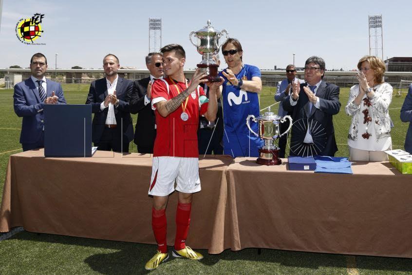 Reunión entre FFCE y RFEF para el próximo Trofeo de Centros Penitenciarios de Fútbol