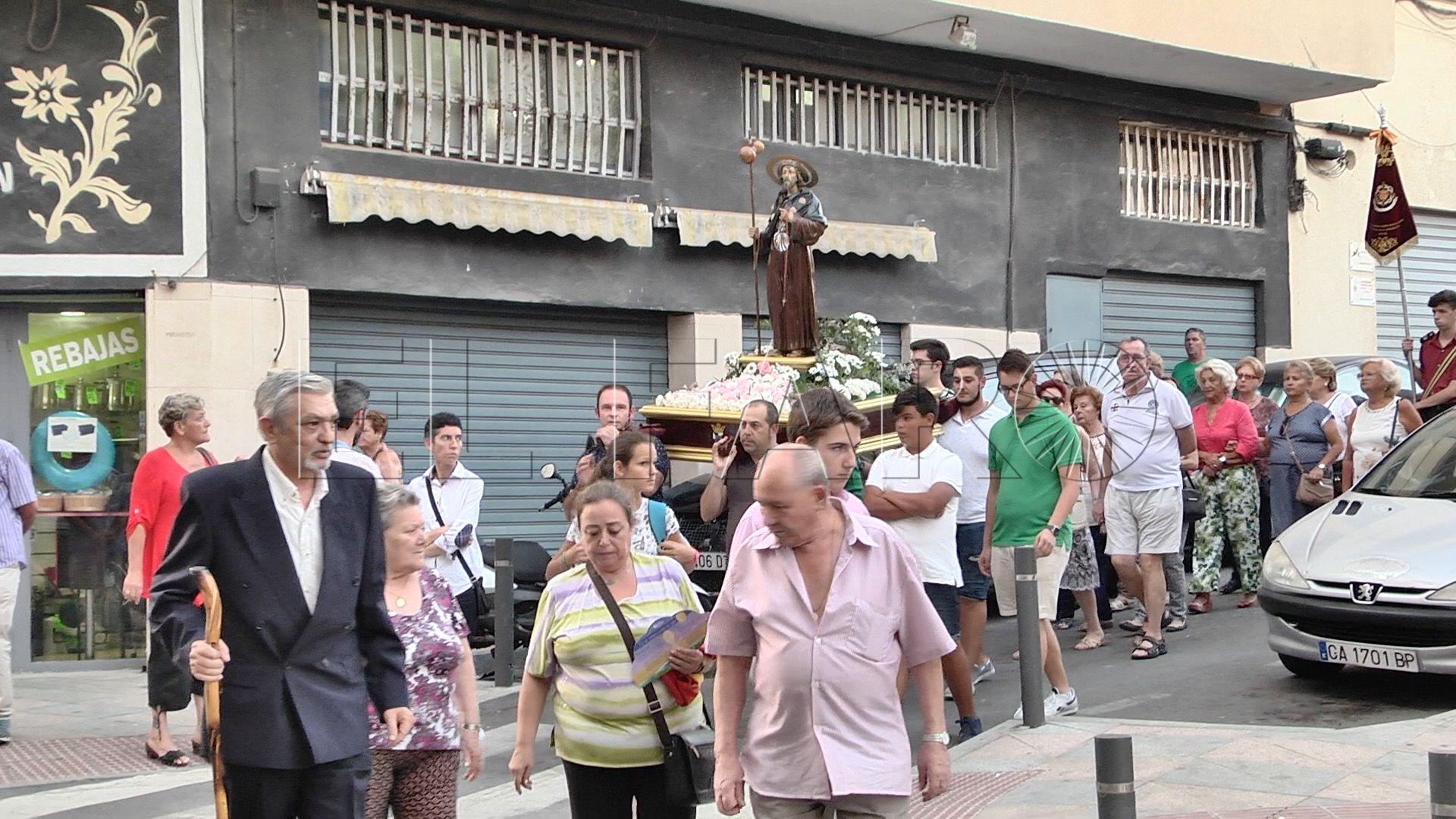 Santiago Apóstol,  46 años en las calles